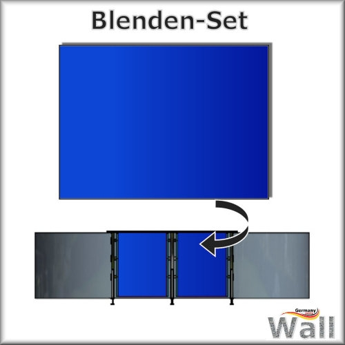 Germany-Pools Wall Blende C Tiefe 1,25 m Edition Bravo