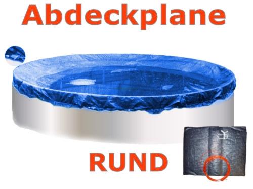 Pool Abdeckplane 6,0 - 6,4 m Poolabdeckung 600 Winterplane rund 640