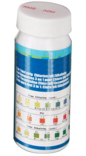 Pool Teststreifen Messung von PH Chlor Wert Test