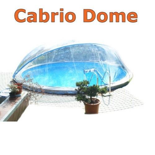Poolabdeckung Cabrio-Dome 5,00 m