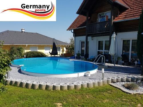 Achtformpool 6 25 x 3 60 x 1 25 m achtform becken pool net for Stahlwandbecken pool