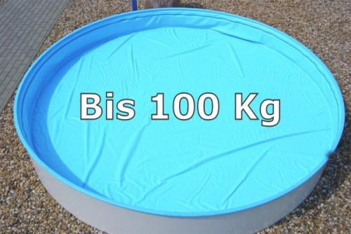 Sicherheitsabdeckung 3,50m x 7,00m oval Pool Schwimmbecken Abdeckung Safe Top