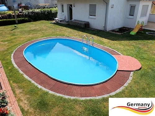 Schwimmbecken 6,30 x 3,60 x 1,35 m