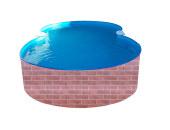 Achtform-Schwimmbecken