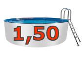 Aluminiumwand-Pool