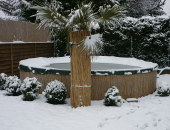 Pool Winterfest machen