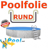Poolfolie Sandfarben 6,00 x 1,35 m x 0,8 mm Einhängebiese Sand