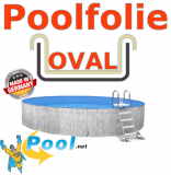 Poolfolie in sand 700 x 350 x 135 m x 0,8 Einhängebiese