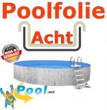 Poolfolie acht 7,25 x 4,60 x 1,50 m x 0,8 Folie Ersatz Sand