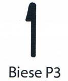 Poolfolie 4,5 x 1,2 m x 1,0 mm mit Keilbiese