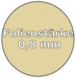Poolfolie oval 6,00 x 3,20 x 1,50 m x 0,8 Folie Ersatz Sand