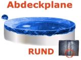 Pool Abdeckplane 4,0 - 4,2 m Poolabdeckung 400 Winterplane rund 420