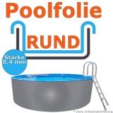 Poolfolie 3,50 x 1,20 m x 0,4 mm Schwimmbadfolie 350 x 120 Pool Innenfolie
