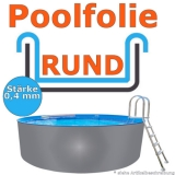 Poolfolie 5,50 x 1,20 m x 0,4 mm Schwimmbadfolie 550 x 120 Pool Innenfolie