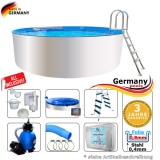 Poolset 4,00 x 0,90 m Weiss