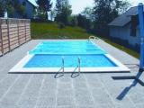 Rollabdeckung Rollschutzabdeckung Rechteckbecken 7,0 x 3,5 m