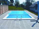 Rollabdeckung Rollschutzabdeckung Rechteckbecken 8,0 x 4,0 m