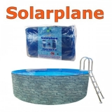 Solarplane pool oval 730 x 360 cm Solarfolie 7,30 x 3,60 m