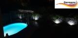 2 x Ausstanzung für Pool-Beleuchtung im Mantel Stahlwandpool, Edelstahlpool, Alupool