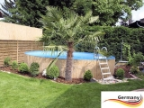 Gartenpool 2,50 x 1,25 m