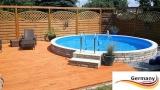 Swimming Pool 3,50 x 1,25 m Komplettset
