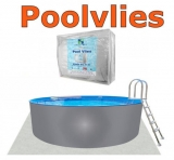 Pool achtform 7,25 x 4,60 x 1,20 Achtformbecken Set