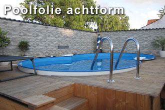 poolfolie-achtform