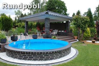 pool in der erde rundpool beim experten kaufen | pool